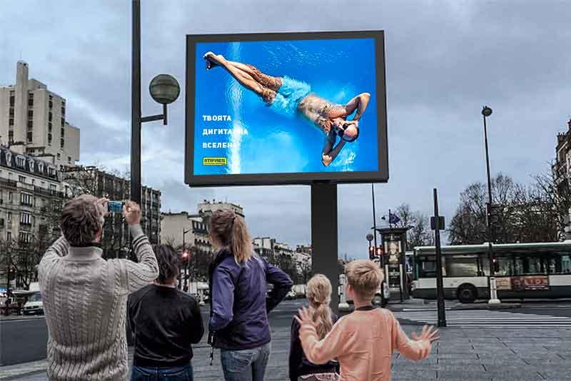 Лед билбордове